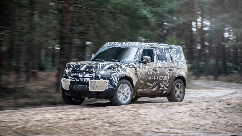 Novo Land Rover Defender já rodou 1,2 milhão de km em testes 2020-l15