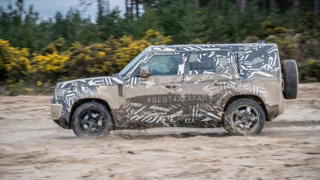 Novo Land Rover Defender já rodou 1,2 milhão de km em testes 2020-l16
