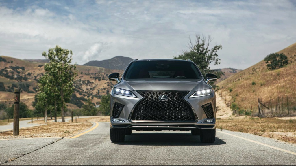 Lexus RX é renovado e agora detecta pedestres até no escuro 2020-l34