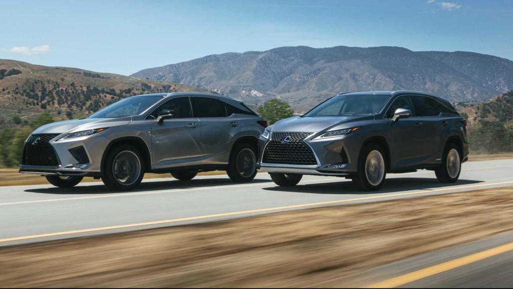 Lexus RX é renovado e agora detecta pedestres até no escuro 2020-l39