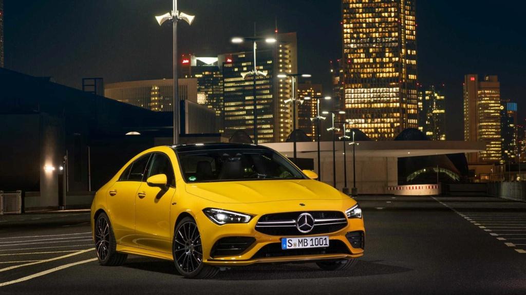 Novo Mercedes-AMG CLA 35 com 306 cv e design invocado  2020-m17