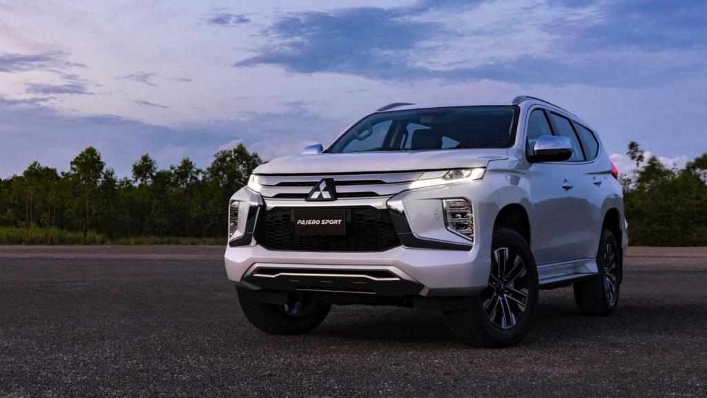 Recém-lançado no Brasil, Mitsubishi Pajero Sport ganha nova cara na Ásia 2020-m33