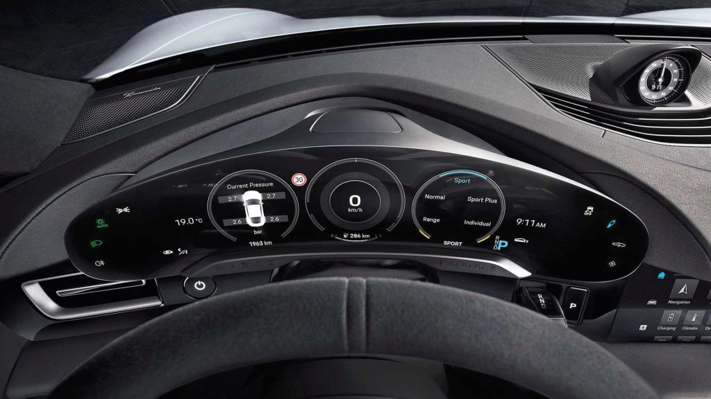 Porsche Taycan 2020 estreia como super sedã elétrico de até 761 cv 2020-p24