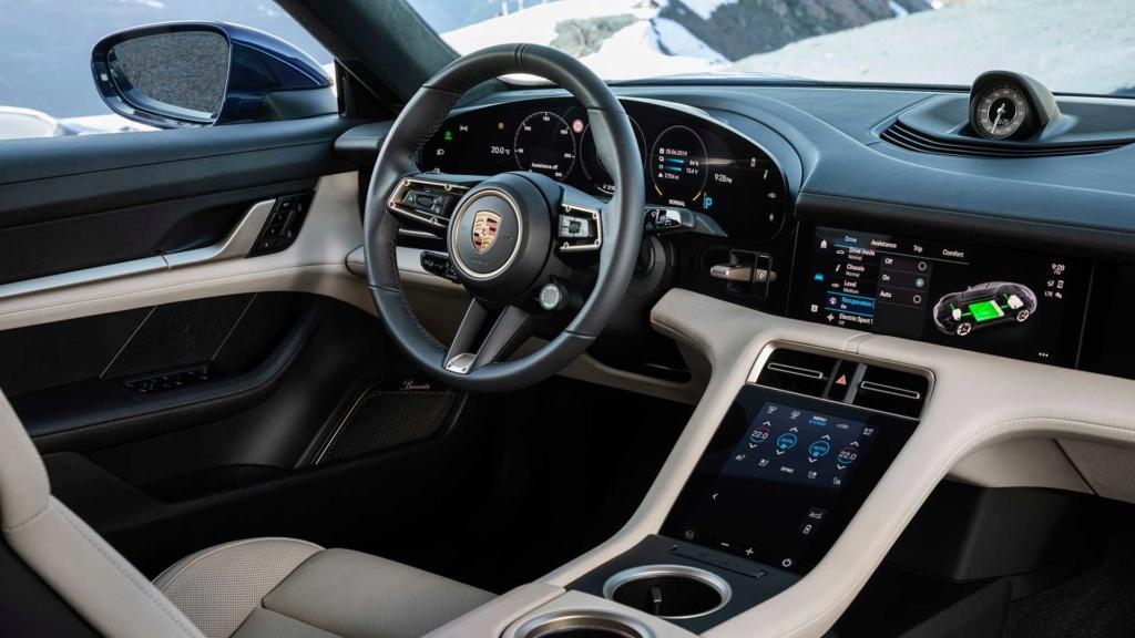 Porsche Taycan 2020 estreia como super sedã elétrico de até 761 cv 2020-p26