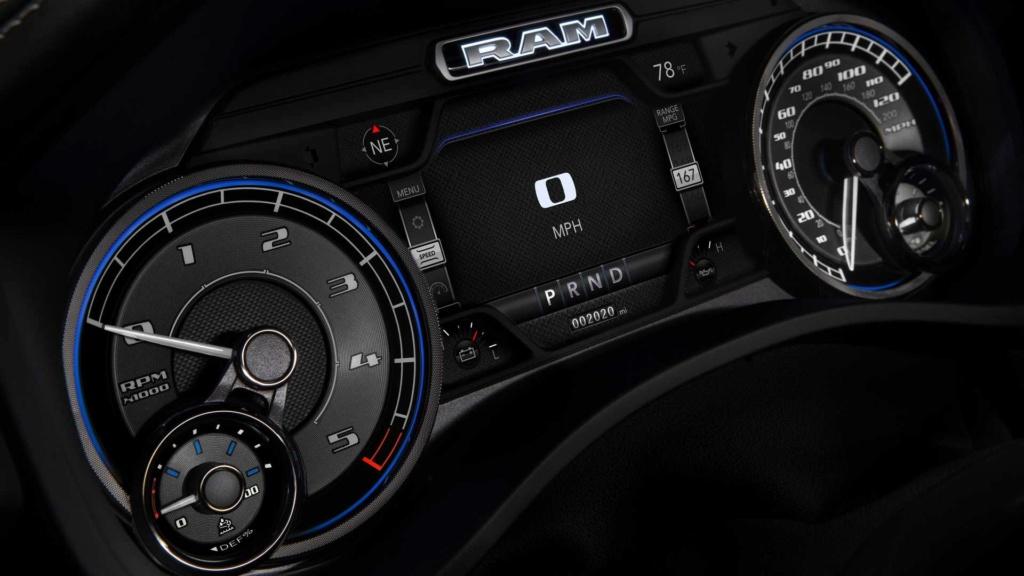 RAM 1500 EcoDiesel 2020: esta é a versão que deve vir ao Brasil 2020-r20
