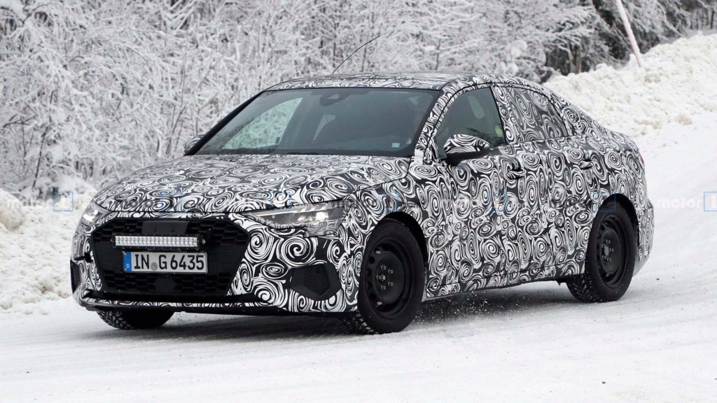 Novo Audi A3 Sedan aparece quase pronto e vem ao Brasil em 2021 2021-a11