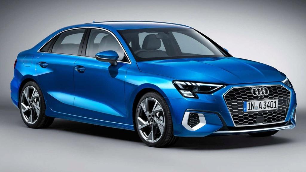 Novo Audi A3 Sedan: projeção adianta visual da próxima geração 2021-a13