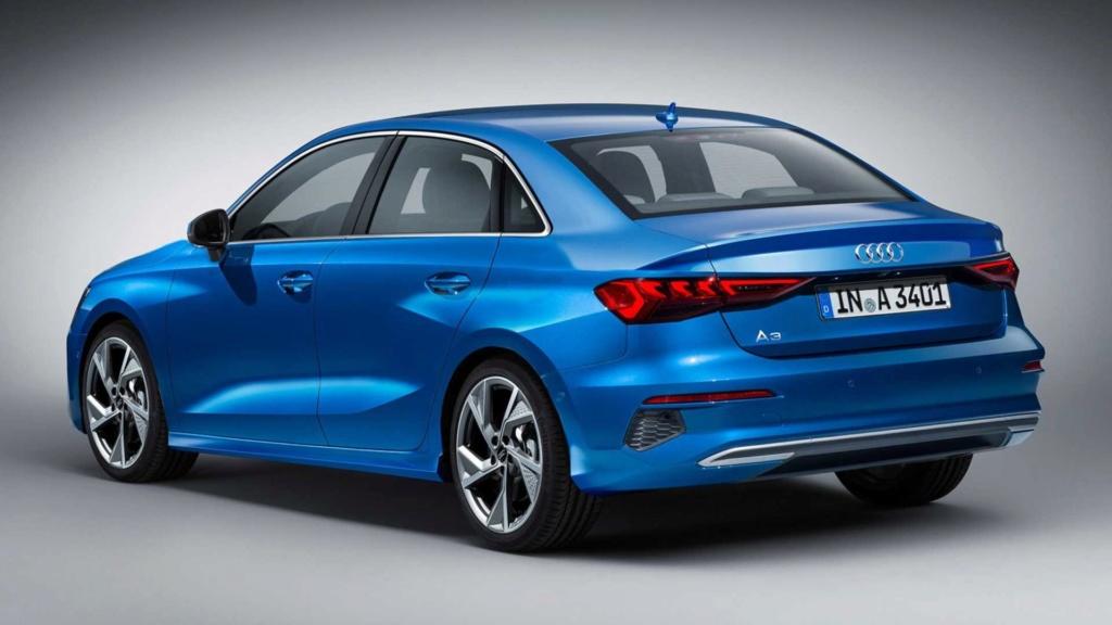 Novo Audi A3 Sedan: projeção adianta visual da próxima geração 2021-a14