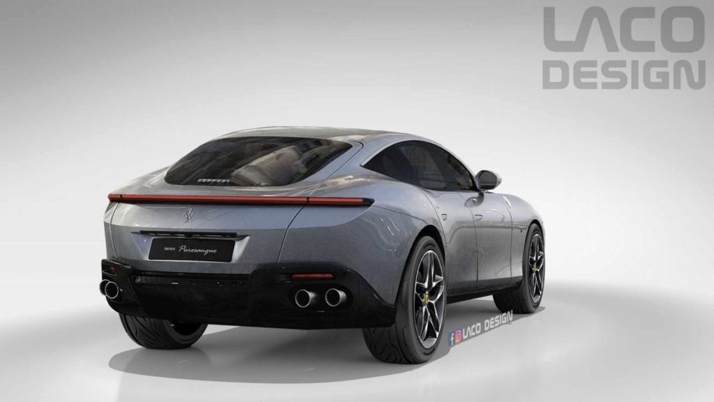 Ferrari adianta que Purosangue será SUV com design inspirado no Roma 2021-f10