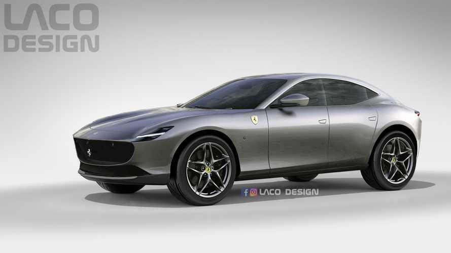 Ferrari adianta que Purosangue será SUV com design inspirado no Roma 2021-f11