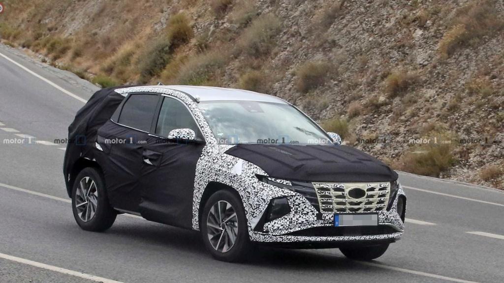 Novo Hyundai Tucson 2021 revela dianteira arrojada 2021-h10