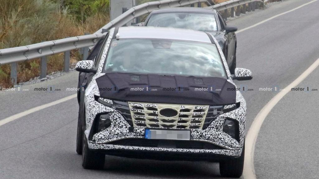 Novo Hyundai Tucson 2021 revela dianteira arrojada 2021-h12