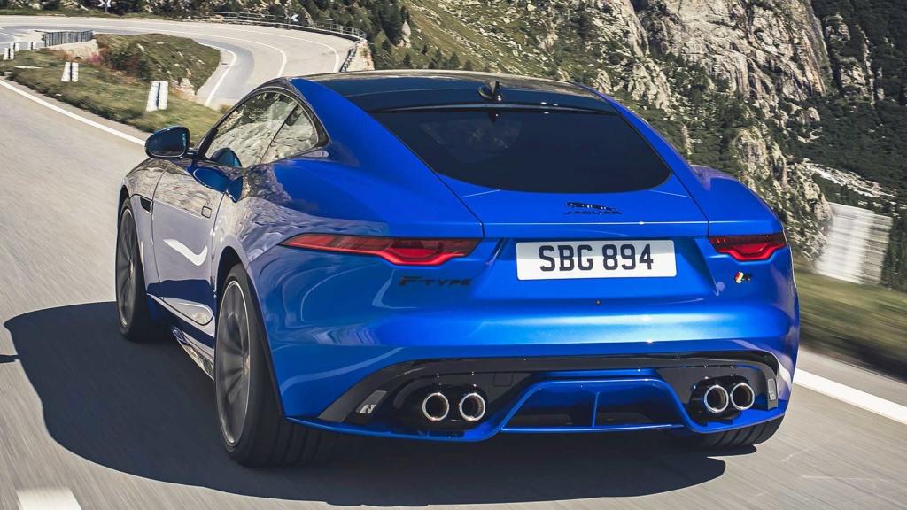 Novo Jaguar F-Type 2021 afia design e atualiza motorzão V8 2021-j11