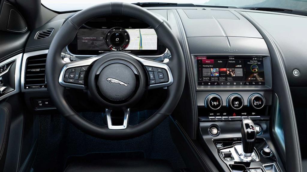 Novo Jaguar F-Type 2021 afia design e atualiza motorzão V8 2021-j12
