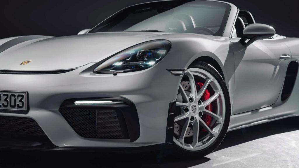Porsche 718 Cayman GT4 e 718 Spyder: motor 4.0 aspirado, 420 cv e câmbio manual! 718-bo10