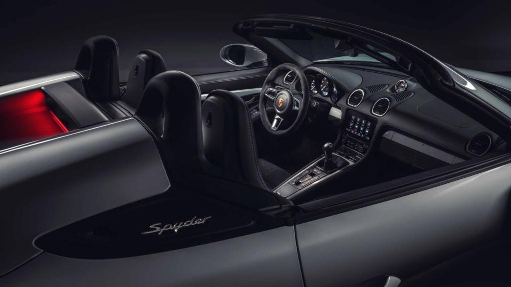 Porsche 718 Cayman GT4 e 718 Spyder: motor 4.0 aspirado, 420 cv e câmbio manual! 718-bo11