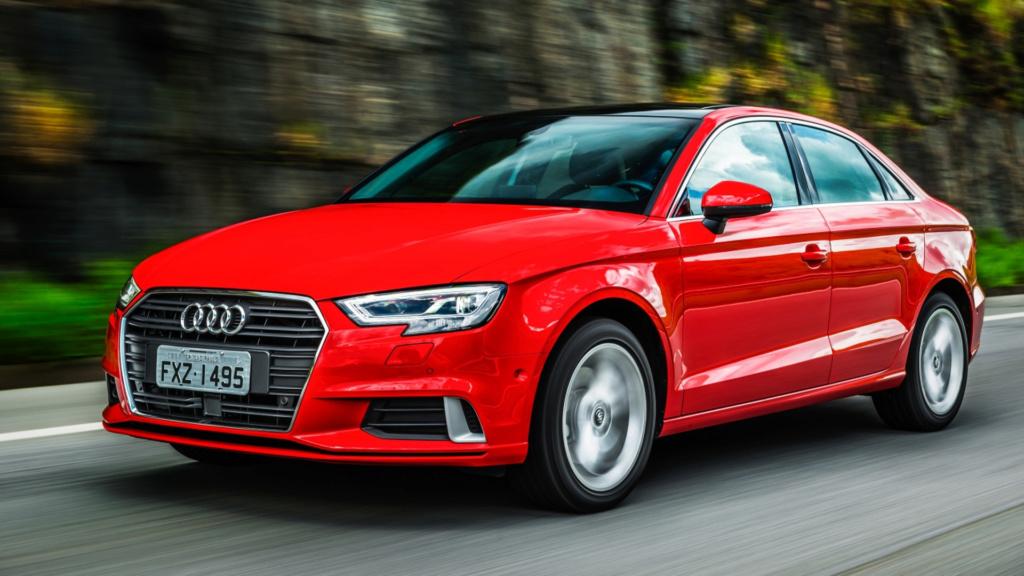 Audi oferece reposição gratuita de grade frontal após casos de furto A3-sed10