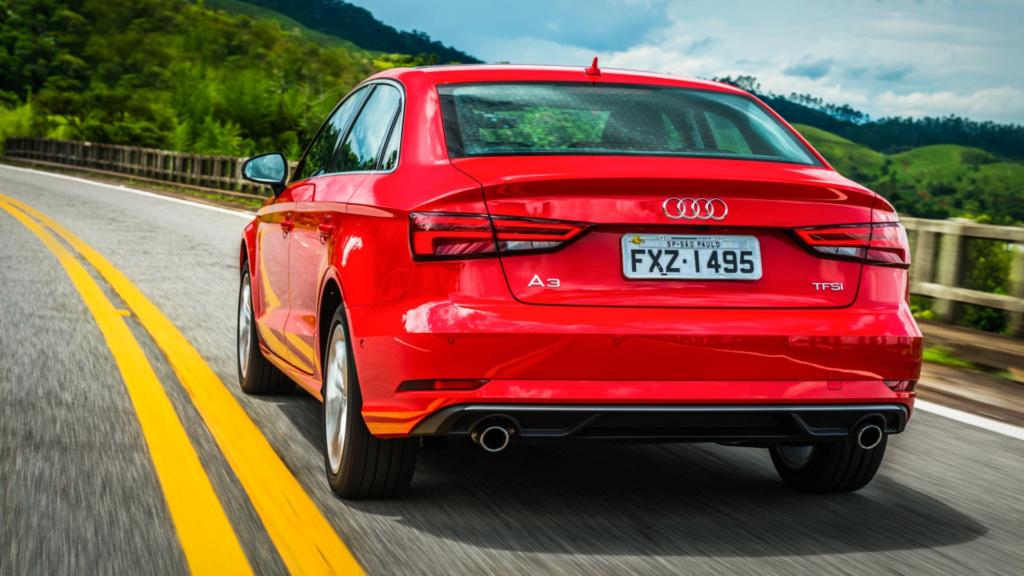 Audi oferece reposição gratuita de grade frontal após casos de furto A3-sed12