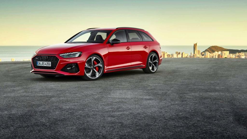 Audi RS4 2020 muda visual e ganha cara de RS6 Audi-r36