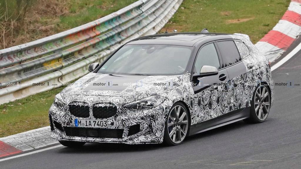 Novo BMW Série 1 revela interior em novas imagens Bmw-1-19