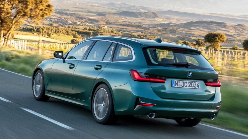 BMW Série 3 Touring chega à sexta geração após 32 anos de história Bmw-3e12