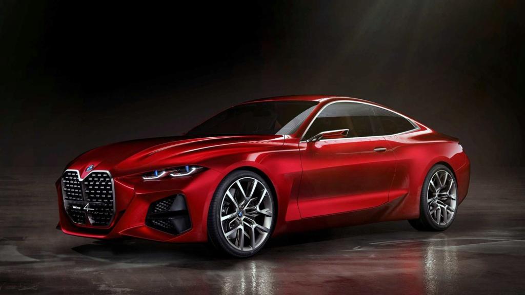 BMW Concept 4 prevê próximo Série 4 com gigantesca grade frontal Bmw-co10