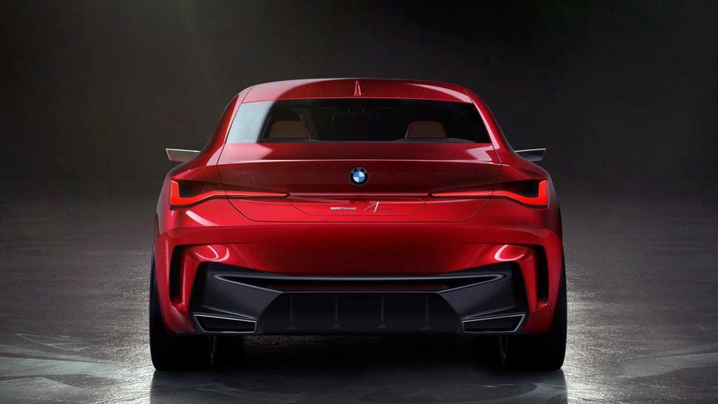 BMW Concept 4 prevê próximo Série 4 com gigantesca grade frontal Bmw-co12