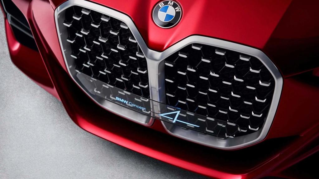 BMW Concept 4 prevê próximo Série 4 com gigantesca grade frontal Bmw-co13