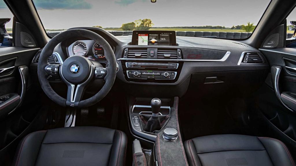 BMW M2 CS tem 445 cv e câmbio manual de 6 marchas Bmw-m213