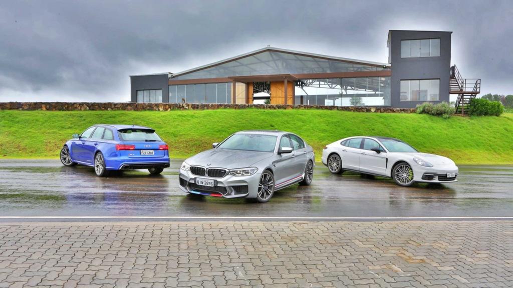 Track day: Novo BMW M5 encara Audi RS6 e Porsche Panamera na pista Bmw-m510