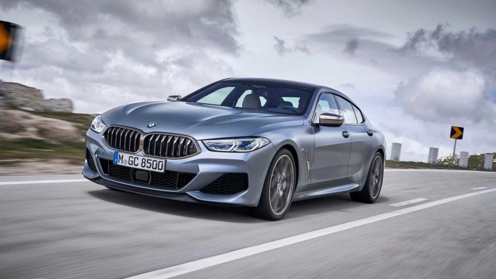 BMW Série 8 Gran Coupé 2020 combina design e luxo com até 530 cv Bmw-se23