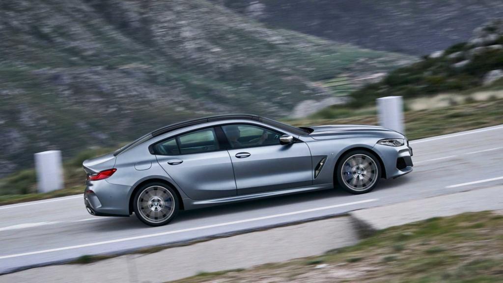 BMW Série 8 Gran Coupé 2020 combina design e luxo com até 530 cv Bmw-se25