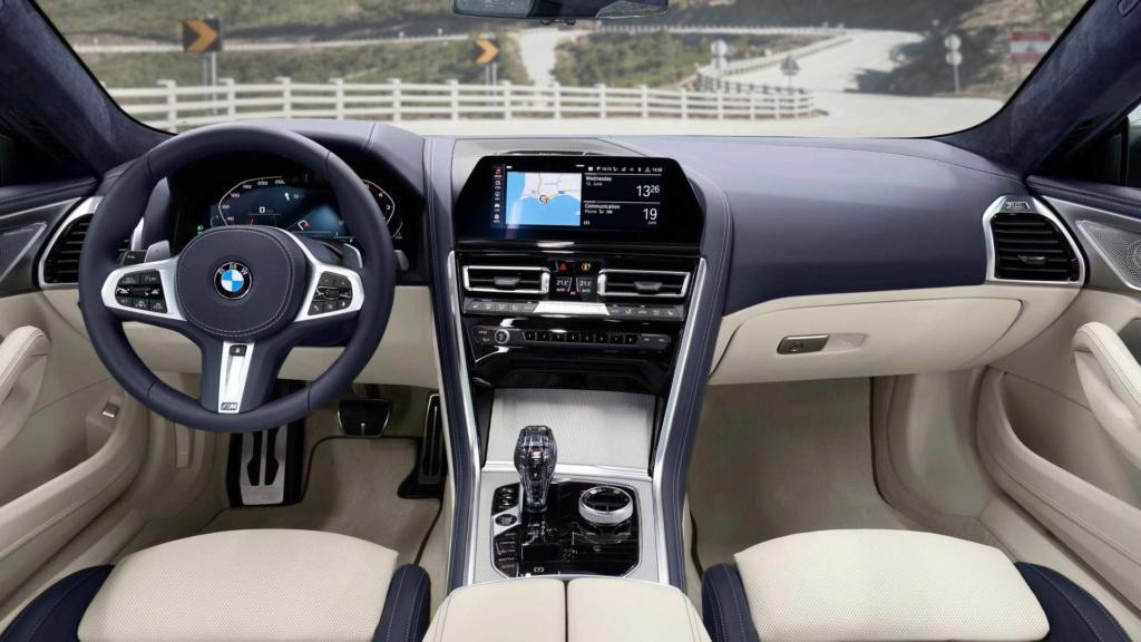 BMW Série 8 Gran Coupé 2020 combina design e luxo com até 530 cv Bmw-se28