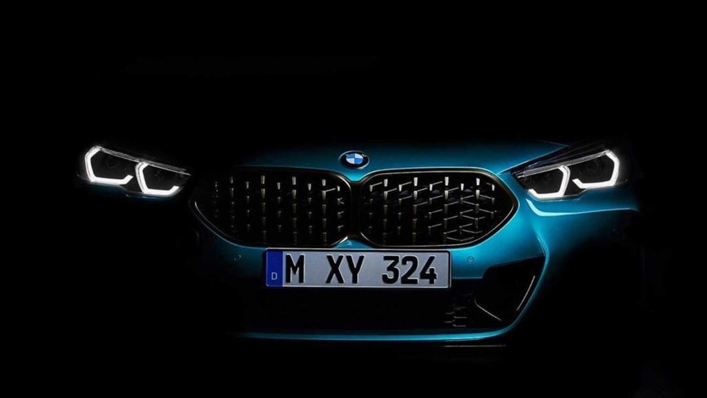 Rival do Classe A Sedan, BMW Série 2 Gran Coupé surge em teasers Bmw-se34