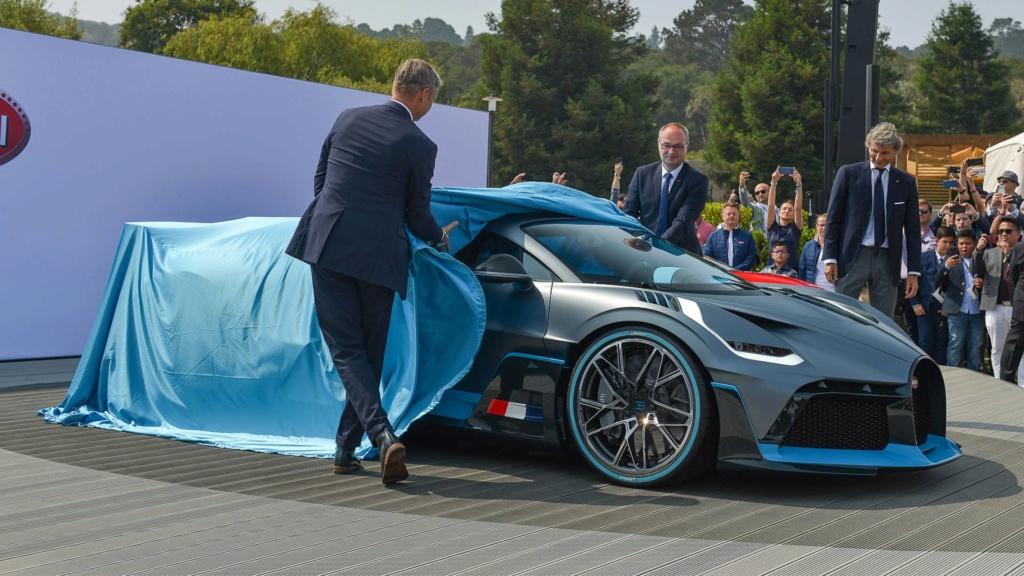 Bugatti pode apresentar modelo especial em Pebble Beach Bugatt19