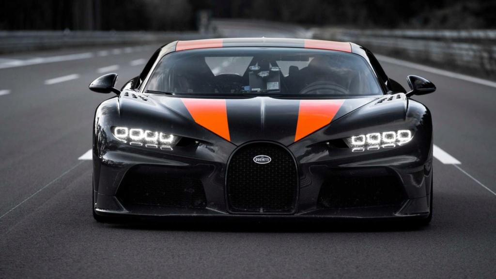 Bugatti Chiron chega aos 490,48 km/h e quebra recorde Bugatt35