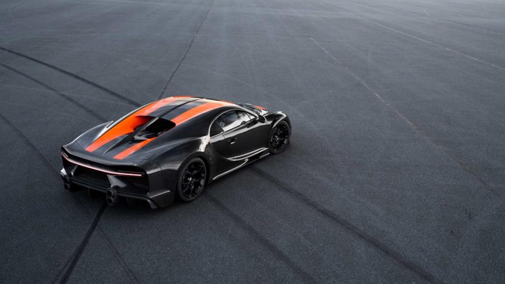 Bugatti Chiron chega aos 490,48 km/h e quebra recorde Bugatt36