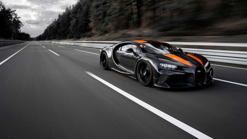 Bugatti Chiron chega aos 490,48 km/h e quebra recorde Bugatt37
