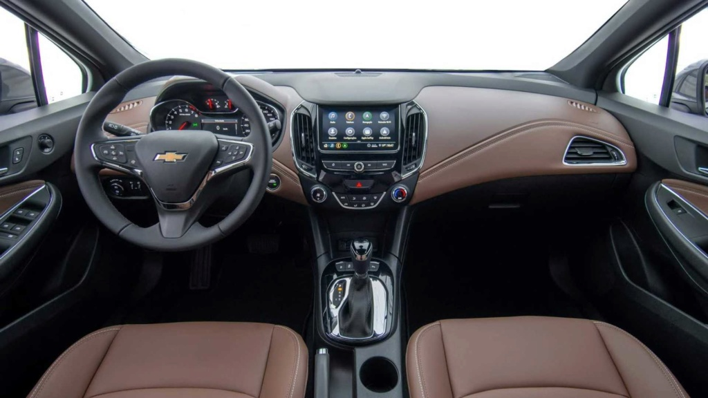 Chevrolet Cruze 2020 chega com mudança visual e internet 4G a bordo Chevr116