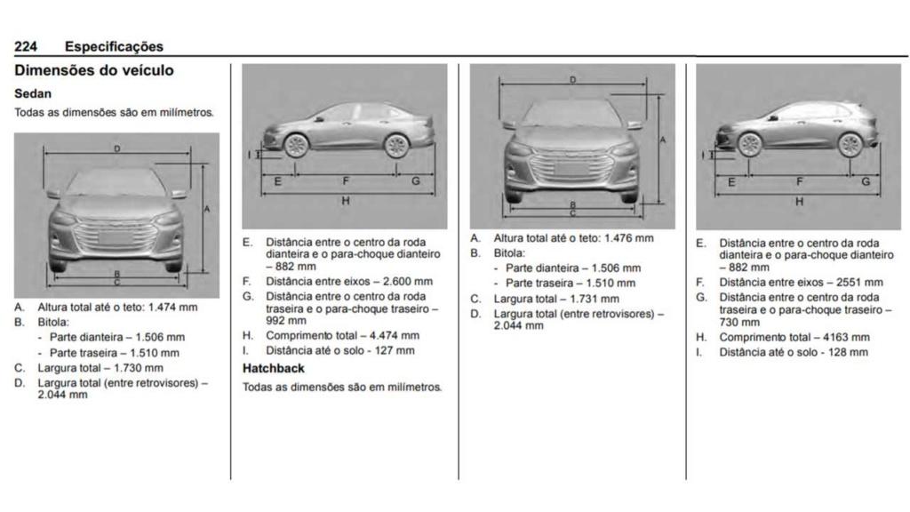 Chevrolet Onix Hatch 2020: GM divulga dimensões e novas fotos Chevr157