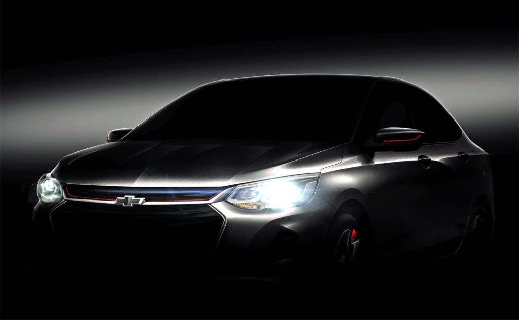 Chevrolet mostra teaser do novo Prisma Chevro13