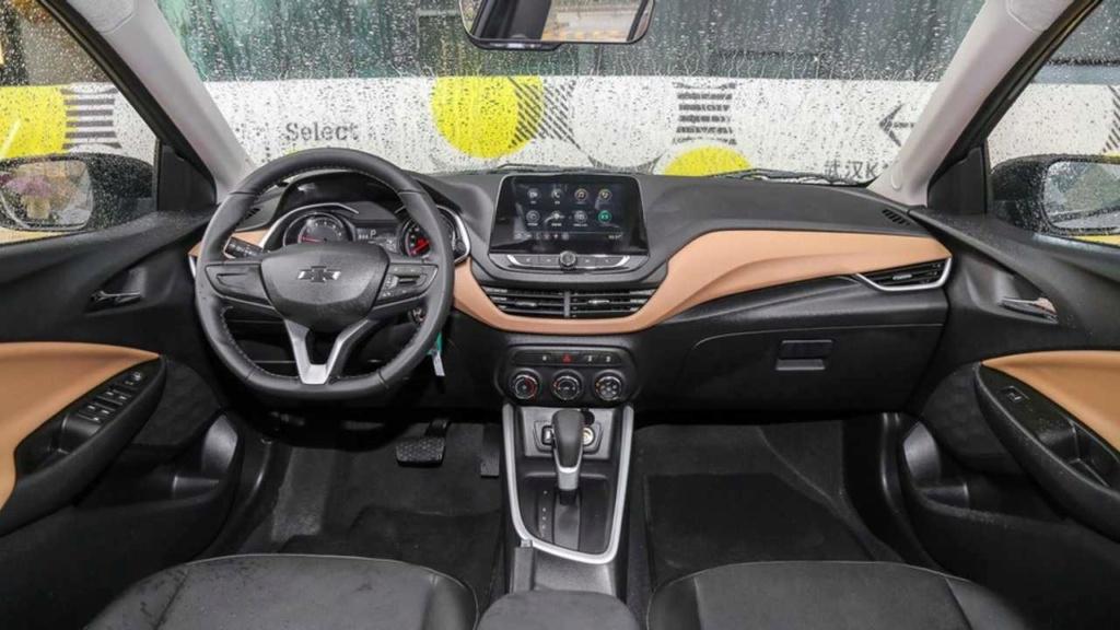 Novo Chevrolet Prisma 2020 agora mostra interior Chevro25