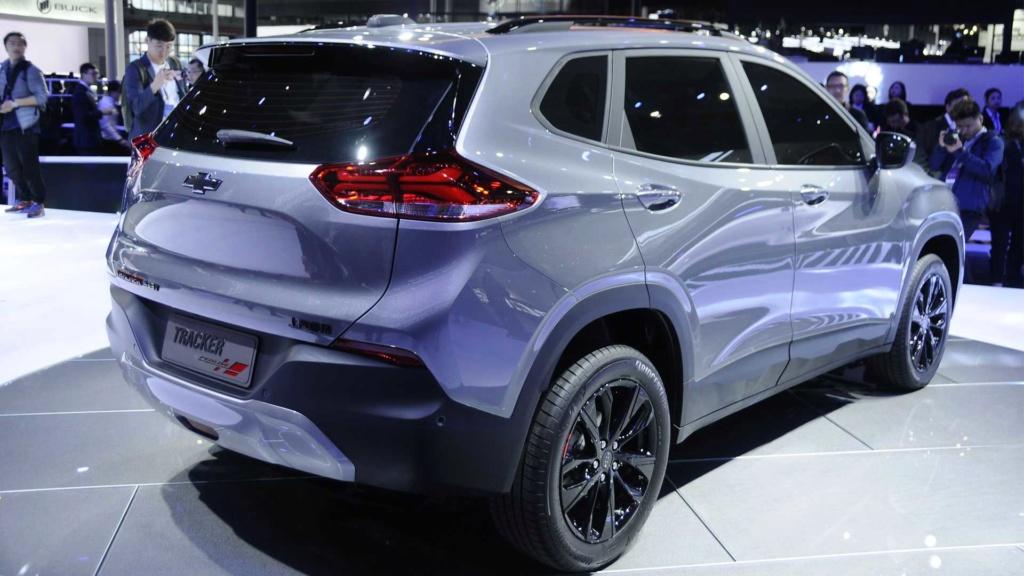 Novo Chevrolet Tracker chegará em 2020 Chevro44