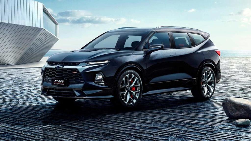 Chevrolet prepara nova Blazer de 7 lugares que pode chegar ao Brasil Chevro60