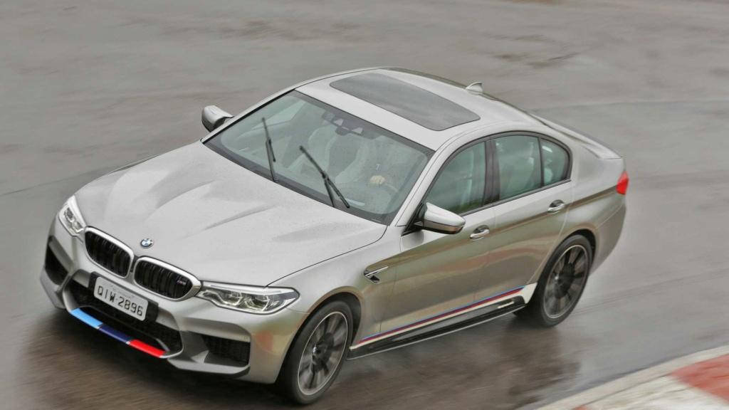 Track day: Novo BMW M5 encara Audi RS6 e Porsche Panamera na pista Compar10