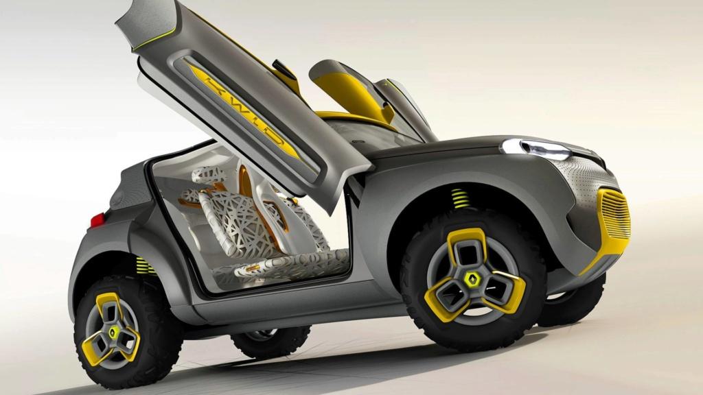 Renault prepara SUV do Kwid para ser lançado em 2020 Concei13