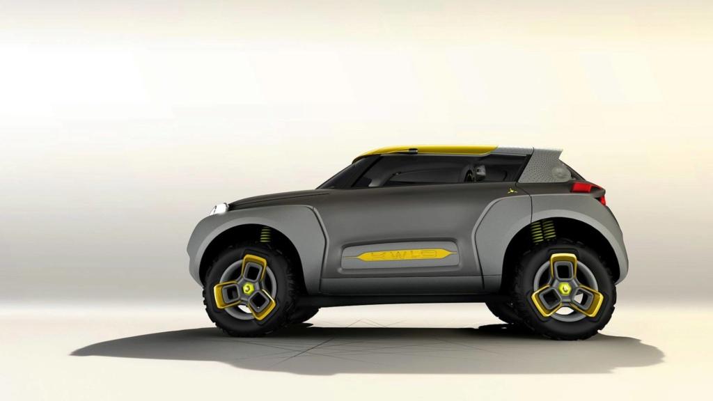 Renault prepara SUV do Kwid para ser lançado em 2020 Concei14