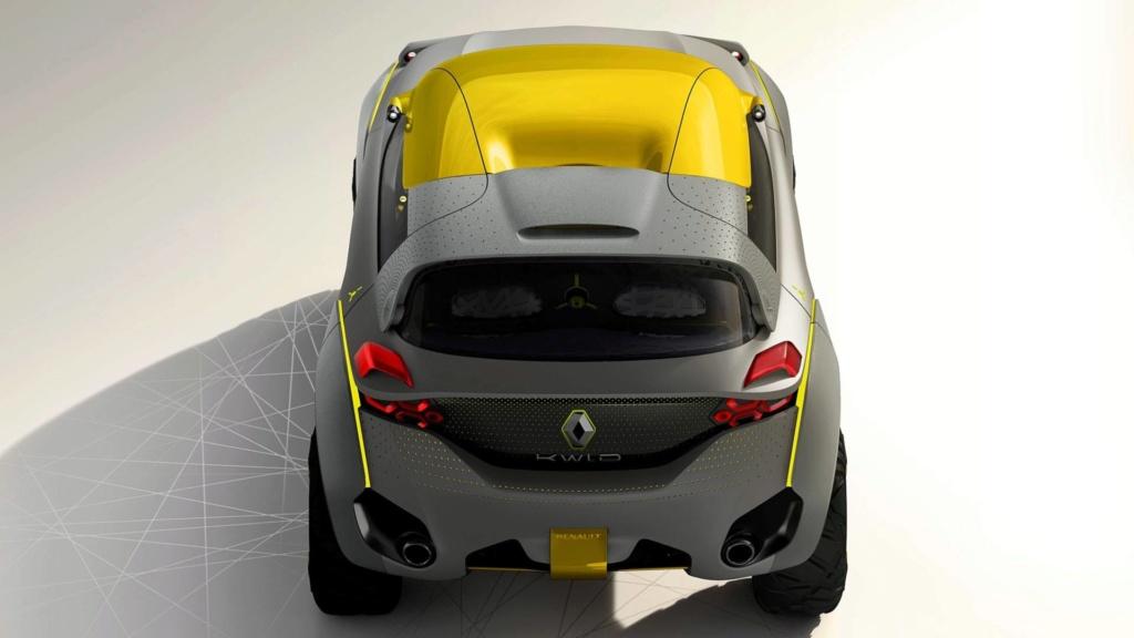 Renault prepara SUV do Kwid para ser lançado em 2020 Concei15