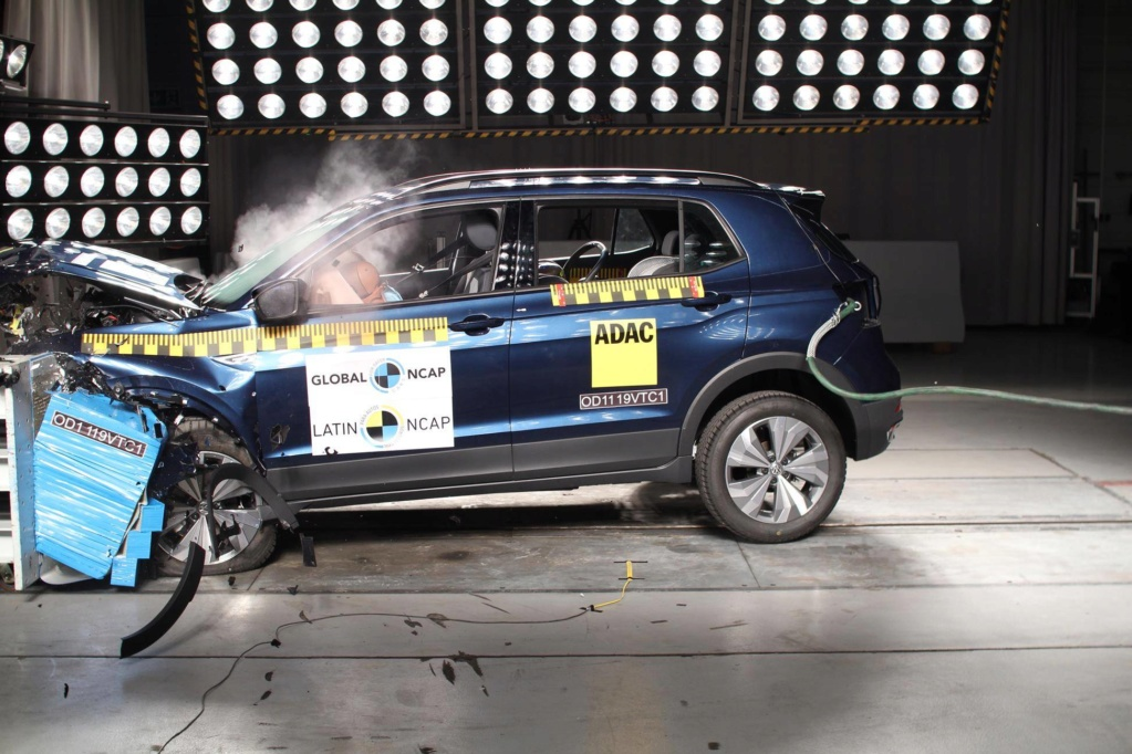 Latin NCAP: Volkswagen T-Cross e Toyota Yaris passam no teste de impacto Crash-10
