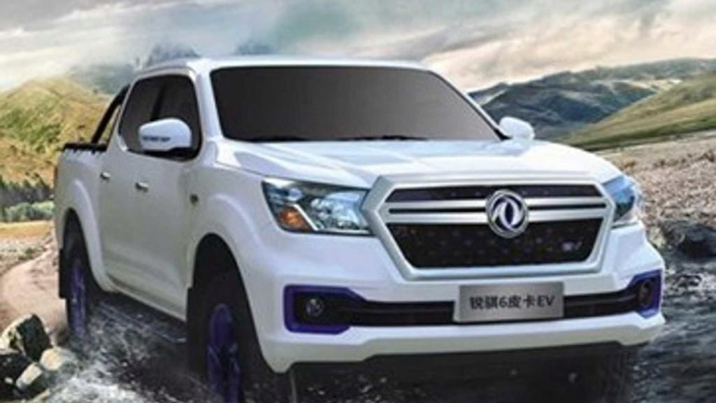 Nissan lança picape elétrica com 403 km de autonomia Dongfe10